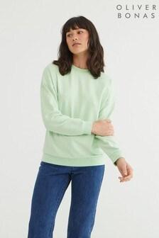 Oliver Bonas Super Soft Green Sweatshirt