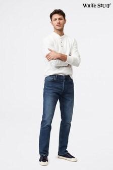 White Stuff Davis Straight Button Fly Jeans