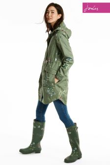 Joules Laurel Hooded Coastline Jacket