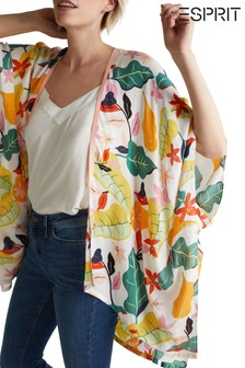 Esprit Natural Printed Poncho