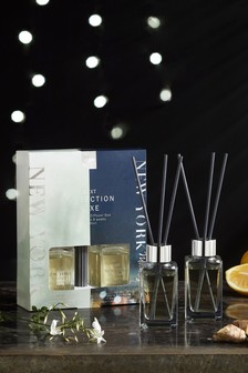 Set of 2 New York Moonlight Collection Luxe 85ml Diffusers