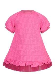 Fendi Kids Cotton Dress
