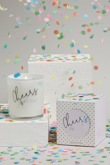Strawberries & Cream Cheers Candle