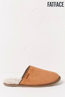 FatFace Brown Melvyn Mules