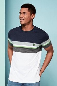 Fluro Block Regular Fit T-Shirt