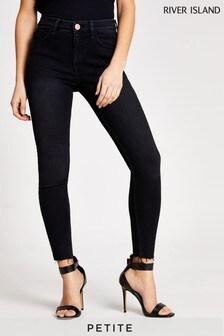 River Island Petite Black Amelie Nightshade Jeans