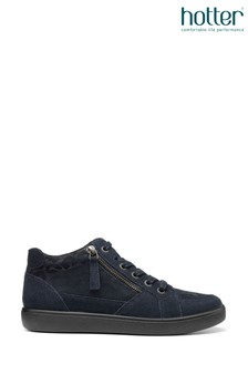 Hotter Blue Rapid Lace-Up High Top Shoes