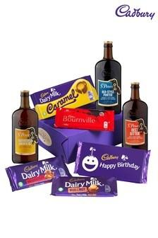 Cadbury's Happy Birthday Beer And Chocolate Gift Box
