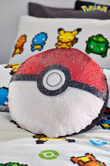 Pokémon Flip Sequin Cushion