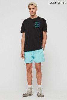 AllSaints Blue Warden Shorts