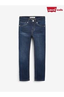 Levi's® Kids Black 510 Machu Picchu Wash Skinny Jeans