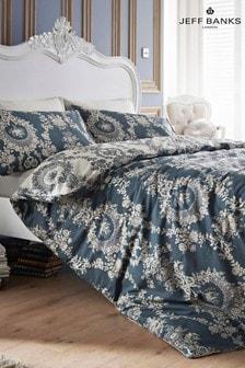 Jeff Banks Pour La Maison Chateau 200 Thread Count Duvet Cover and Pillowcase Set