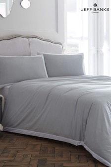 Jeff Banks Pour La Maison Limoges 200 Thread Count Duvet Cover and Pillowcase Set