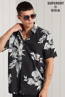 Superdry Hawaiian Box Fit Shirt