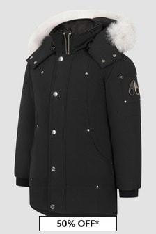 Moose Knuckles Kids Black Jacket