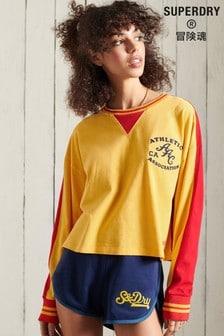 Superdry Collegiate Graphic Long Sleeve Top