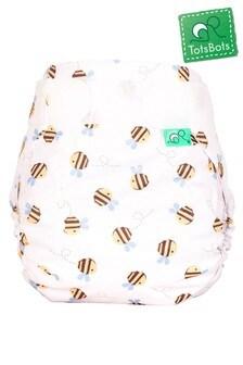 Totsbots Reusable Peenut Wrap Buzzy Bee Nappy