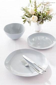 Set of 4 Sophie Conran Arbor Grey Salad Plates