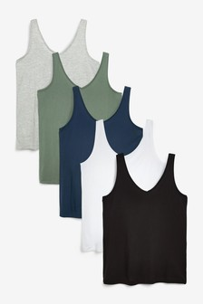 Slouch Vests 5 Pack