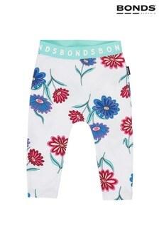Bonds White Dancing Daisies Leggings
