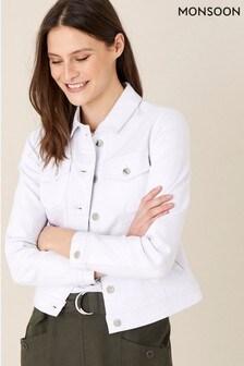 Monsoon White Willow Denim Jacket