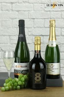 Trio of European Sparkling Wines by Le Bon Vin