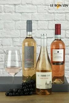 Trio of European Rosé Wines by Le Bon Vin