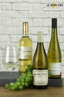 Trio Of French White Wines by Le Bon Vin