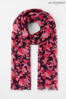 Accessorize Blue Love Is In The Air Scarf