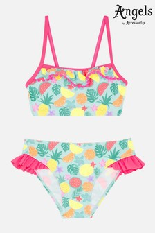 Angels by Accessorize Pink Fruit Print Bikini Set