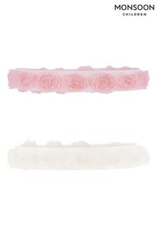 Monsoon Baby Organza Rosette Bando Set