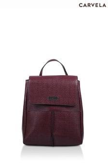 Carvela Red Heidi Two Pocket Backpack