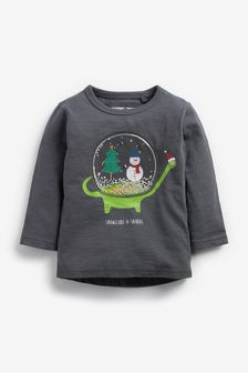 Interactive Christmas T-Shirt (3mths-7yrs)