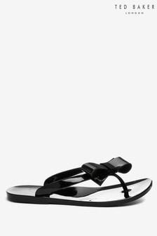 Ted Baker Bejouw Black Flip Flops