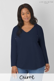 Live Unlimited Curve Navy Hoodie