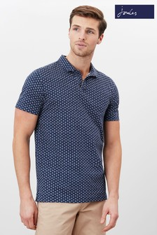 Joules Drift Jersey Printed Polo