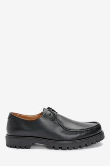 Cleated Apron Derby Shoes
