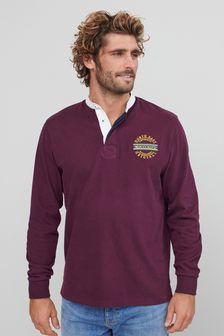 Mens Long Sleeve Rugby Shirt