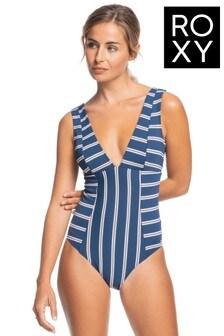 Roxy Blue Moonlight Splash One Piece Swimsuit
