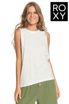 Roxy White Easy Cool Vest Top