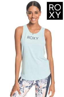 Roxy Blue Freedom Fever Technical Vest Top