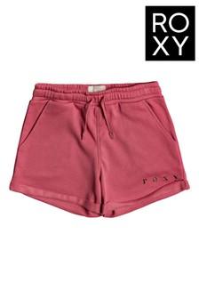 Roxy Pink Be My Life Organic Sweat Shorts