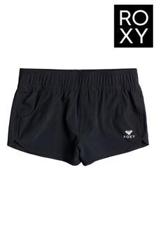 Roxy Black ROXY Wave 2 Board Shorts