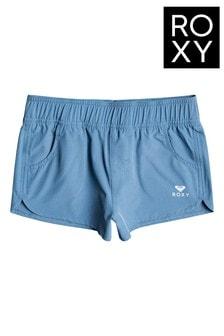Roxy Blue ROXY Wave 2 Board Shorts