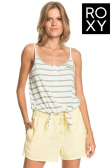 Roxy White From Me To You Vest Top
