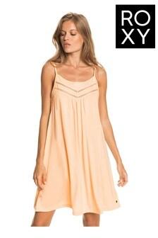 Roxy Orange Rare Feeling Strappy Dress