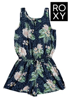 Roxy Blue In The Mountain Strappy Playsuit
