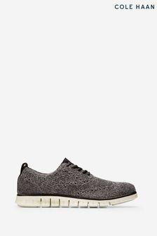 Cole Haan Black Zerogrand Stitchlite Oxford Shoes