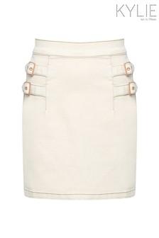 Kylie Natural Denim Skirt