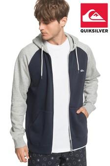 Quiksilver Blue Everyday Zip Up Hoodie